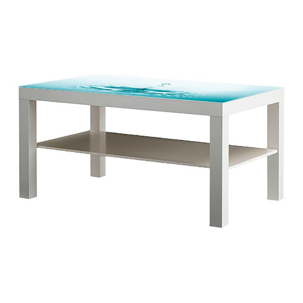 Metacrilato para Mesa IKEA Lack Personalizada Gotas de Agua ...