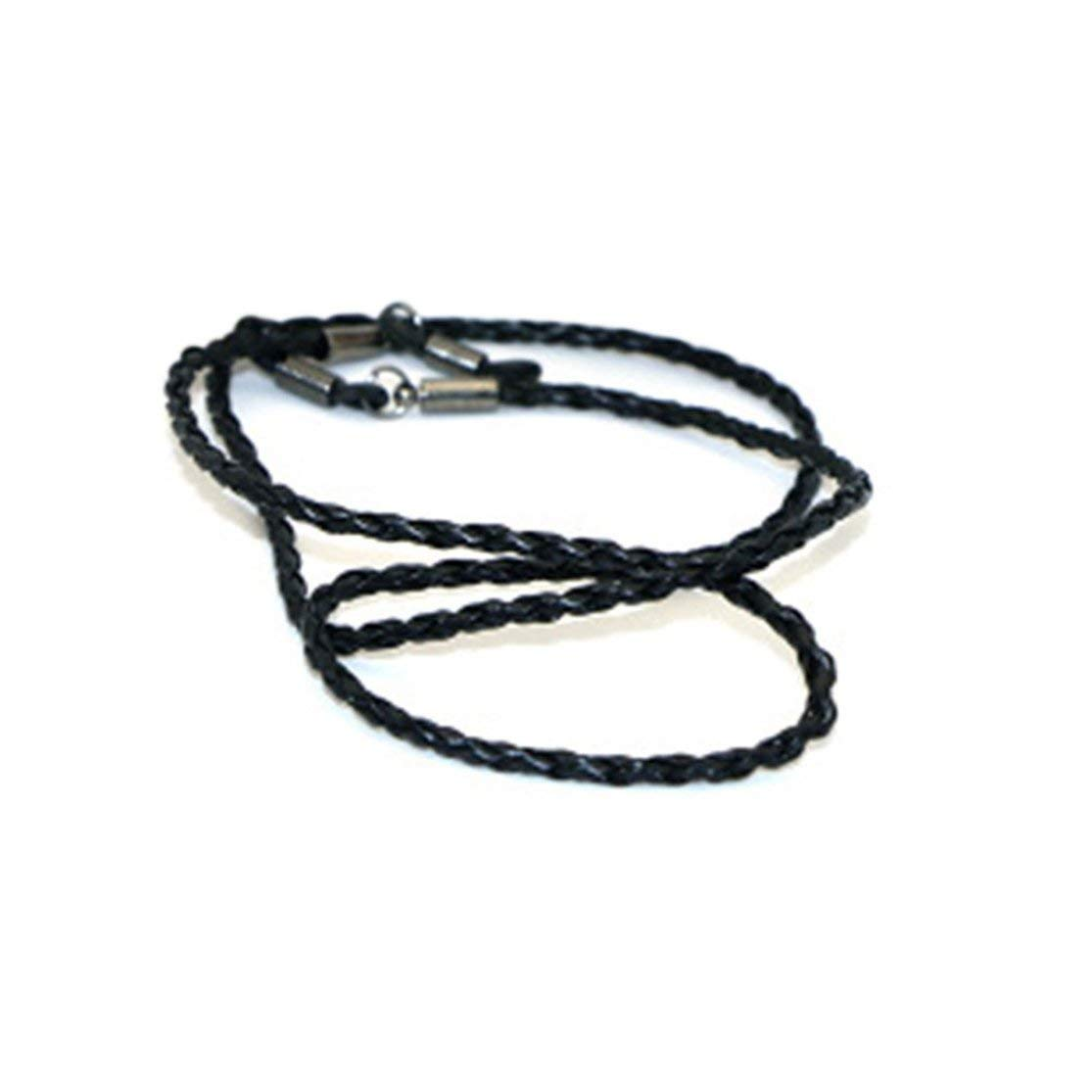 LouiseEvel215 Cuerda de cuerda de Cuero de Moda Gafas de extremo Ajustable Correa para EL Cuello Exquisito Cord/ón para gafas Accesorios para gafas universales