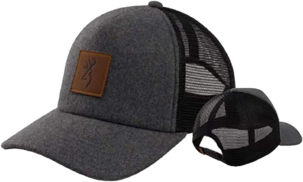 Browning Trapper Cap-Gray