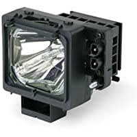 OEM Sony RPTV Lamp, Replaces Model KDF-60WF655 with Housing