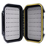 Maxcatch OR Fly Box Waterproof Portable Design for Large Flies(Easy Grip, Slit Foam)