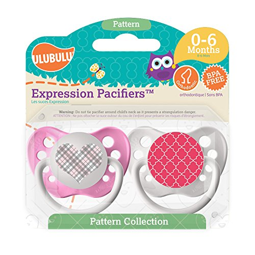 Ulubulu Expression Pacifier Moroccan Pattern product image
