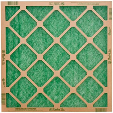 Pack of 4 Flanders E-Z Green Air Filtration Filters 12x24x1 (Green 12 Glass Filter)