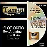 Slot Okito Coin Box Aluminum One Dollar by Tango Magic