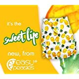 Easy Peasies Reusable Cloth Swim Diaper Nappy One Size Couche a Piscine 6-40 lbs (Sweet Life)