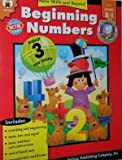 Beginning Numbers, Carson-Dellosa Publishing Staff, 0887241875