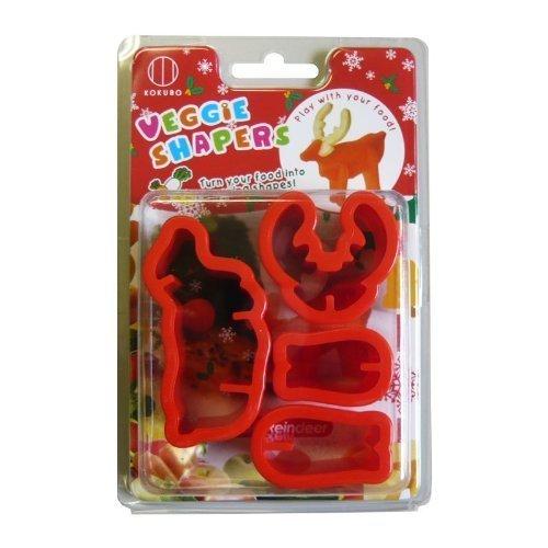 CuteZCute Vegetable Cutter Cookie Reindeer