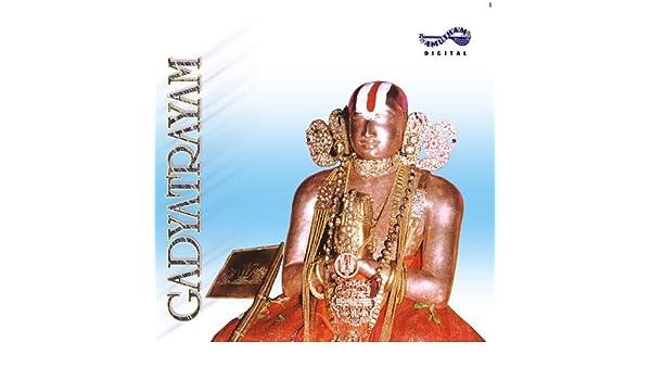 Gadyatrayam songs download: gadyatrayam mp3 sanskrit songs online.