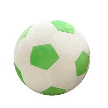 TAOtTAO - Almohada de Peluche de fútbol para niños, C, 20x20cm: Amazon.es: Deportes y aire libre