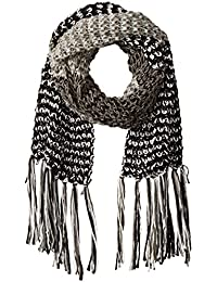 Women's Multi-colored Marled Oblong Scarf