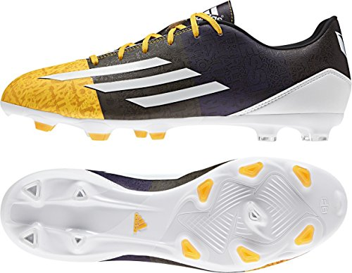 adidas Bota F10 TRX FG Messi Solar gold-Earth green Amarillo-Azul-Grafito