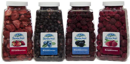 - Harmony House Foods Berry Medley (Quart Size Jars, 4 Count)
