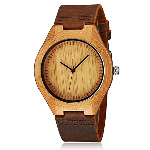 CUCOL Watches Cowhide Leather Groomsmen product image