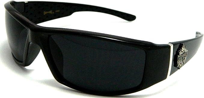 Chopper Sunglasses Black Frame Black Lens 6554 C46