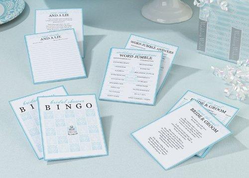 Lillian Rose SG621 Bridal Shower Games - Set of 4