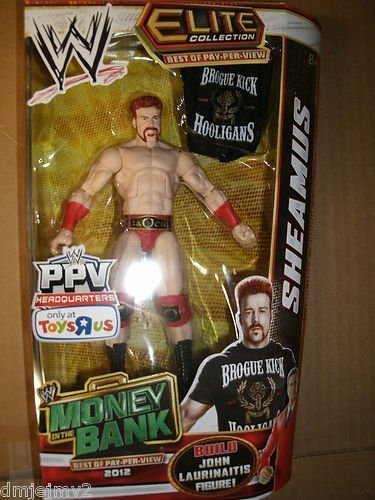 Wwe Elite Collection Pay Per View Money in the Bank SHEAMUS Build John Laurinaitis by Wrestling (Build A John Laurinaitis Figure compare prices)