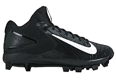 NIKE Men's Trout 3 Pro MCS Baseball Cleat Black/White Size 7.5 ...
