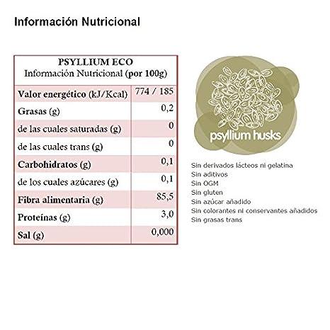 Energy Feelings Psyllium Ecológico Entero con Cáscara - 200 gr ...