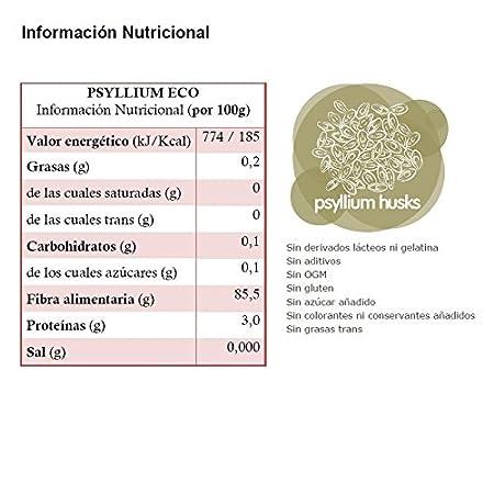 Energy Feelings Psyllium Ecológico Entero con Cáscara - 200 ...