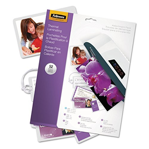Amazon.com : FEL5208401 - Fellowes Laminating Pouch Starter ...