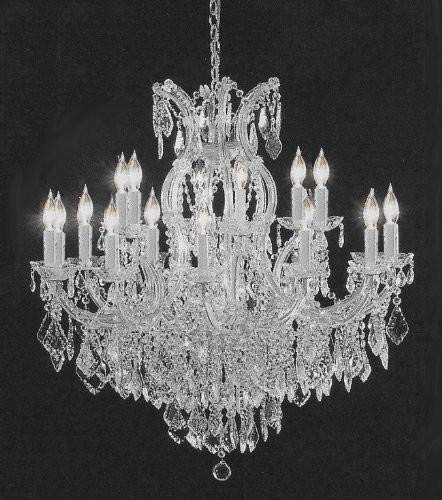 Swarovski crystal lighting Feng Shui Swarovski Crystal Trimmed Chandelier Crystal Chandelier H38 Luxedecor Swarovski Crystal Trimmed Chandelier Crystal Chandelier H38