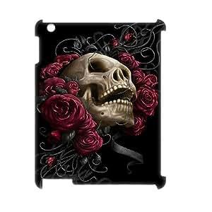 ANCASE Sugar Skull Pattern 3D Case for iPad 2,3,4