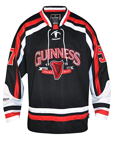Guinness Trademark Label Hockey Jersey (Beer Jersey)