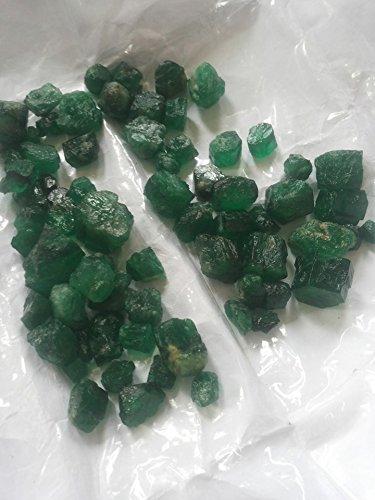 "Tumbled Emerald (3/4"" - 1-1/4"") - 1pc. (sizes may vary)"