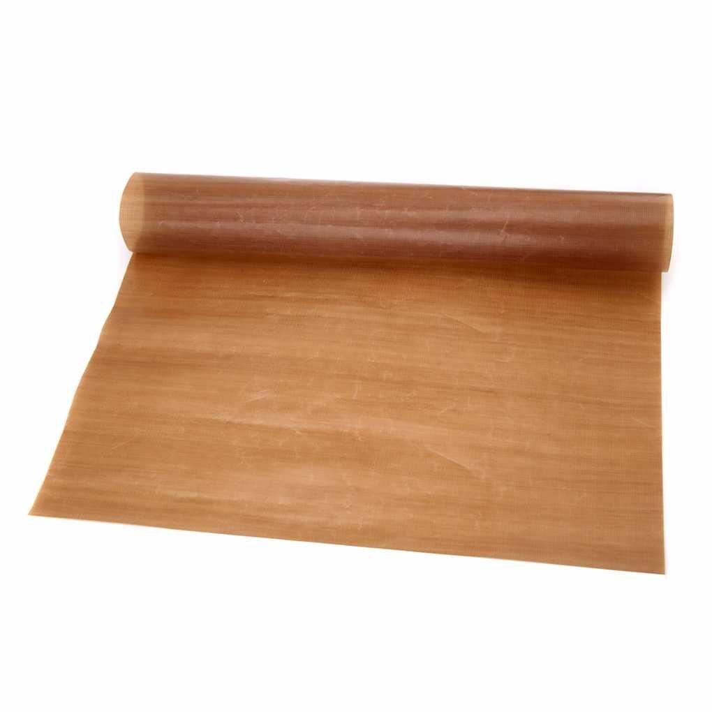 Lidahaotin Réutilisable Non Stick papier cuisson à haute température feuille de téflon résistant Four à micro-ondes Grill de cuisson Mat 40 x 33 cm