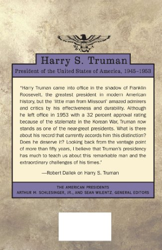 th efforts of president truman in avoiding the errors of the american past Answer to question 8(multiple choice worth 3 points) (hc) the quote below was taken from a speech given on august 29, 1945, to engineers on the manhattan project by the military commander in charge of the project: the only thing that we have to think about is that the war is over and that a great many of [sic] americans are going to be safe.