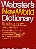 Webster's New World Dictionary, David Bernard Guralnik, 0671418092