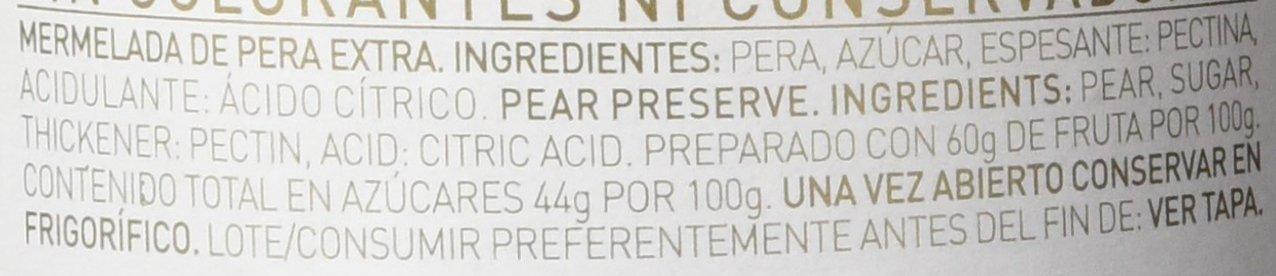 Helios Mermelada Extra Pera - 340 gr - [Pack de 12]: Amazon.es ...