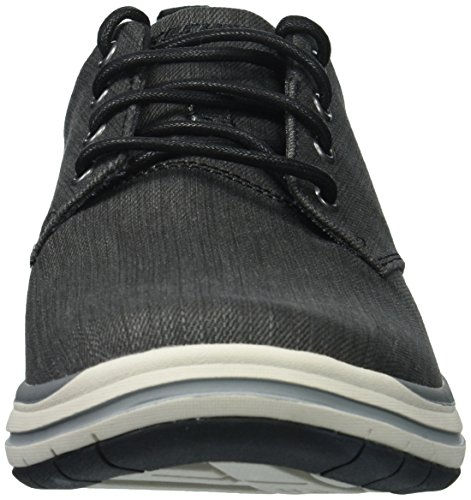 Gris Up Lace Chaussures Skechers Elson Moten Casual Mens wqnn4Hp1
