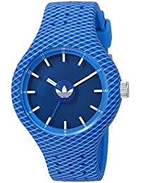adidas Men's 'Ipswich' Quartz Rubber and Silicone Casual Watch, Color:Blue (Model: ADH3203)