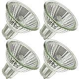 Industrial Performance BAB/GU7, 20 Watt, MR16, Twist-Lock (GU7) Base Light Bulb (4 Bulbs)
