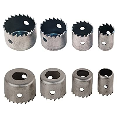 16PCS 19-127mm Hole Saw Kit Set Metal Steel Circle Cuutter Round Drill Bit For Cutting Smooth Clean Accurate Holes