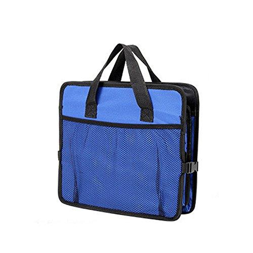 Zantec Tissu Sacs de rangement/pour cuisine coffre de voiture bo/îte /à gants Bo/îte de rangement//organiseur de coffre pliable en tissu Oxford avec sac isotherme de voyage