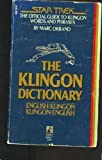 The Klingon Dictionary, Marc Okrand, 0671543490
