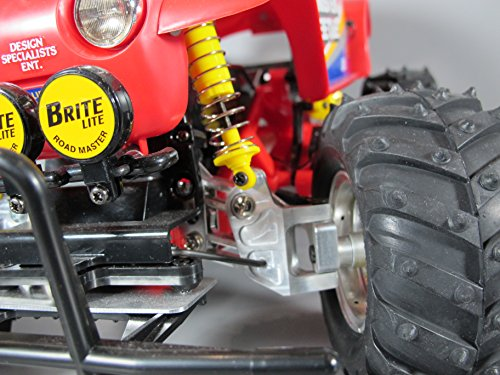 - Pair Aluminum Steering Linkage Kit Tamiya RC 1/10 Super Clodbuster Bullhead