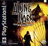 PS1 PLAYSTATION 1 ALONE IN THE DARK -- THE NEW NIGHTMARE -- DISC 1-2