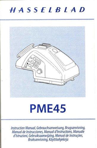 - Hasselblad PME45 Meter Prism Viewfinder Original Instruction Manual