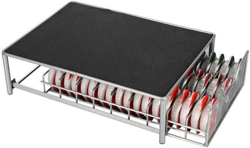 OYSTERBOY hasta 54 c/ápsulas Dispensador de c/ápsulas de metal para c/ápsulas de Tassimo//una taza