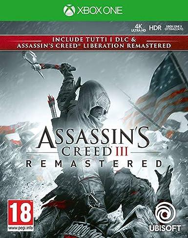 Assassins Creed III Liberation Remastered - Xbox One [Importación italiana]: Amazon.es: Videojuegos