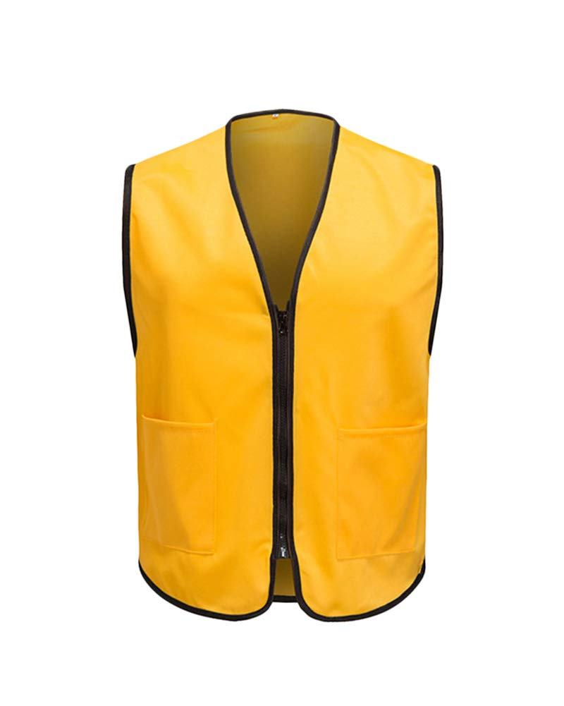 Vest Quick Dry Hunting Thin Gilet Top for Unisex Yellow L by Shaoyao