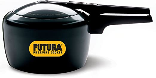 HAWKINS Futura by Hard Anodized 3.0 Litre Pressure Cooker from