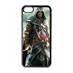 iPhone 5c Cell Phone Case Black Assassin Creed 015 SH3085951