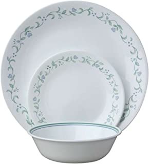 product image for Corelle Service for 6, Chip Resistant, Country Cottage Dinner Plates, 18-Piece