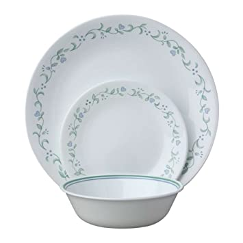 Amazon.com | Corelle Livingware 18-Piece Dinnerware Set Country Cottage Service for 6 Dinnerware Sets  sc 1 st  Amazon.com & Amazon.com | Corelle Livingware 18-Piece Dinnerware Set Country ...