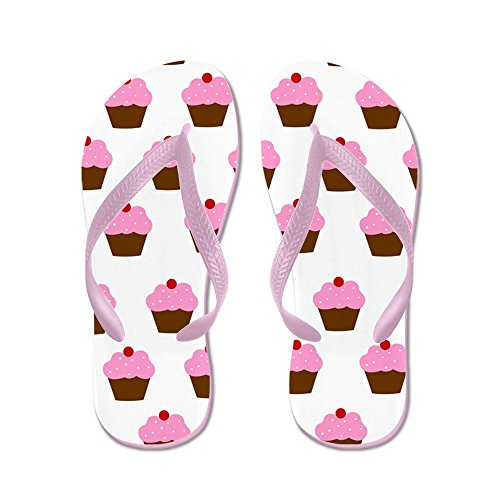 CafePress - Cupcake - Flip Flops, Funny Thong Sandals, Beach