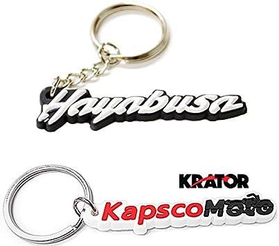 Suzuki GSXR 1300 Hayabusa Keychain Key Ring Fob Logo Decal+Sportbike Keychain